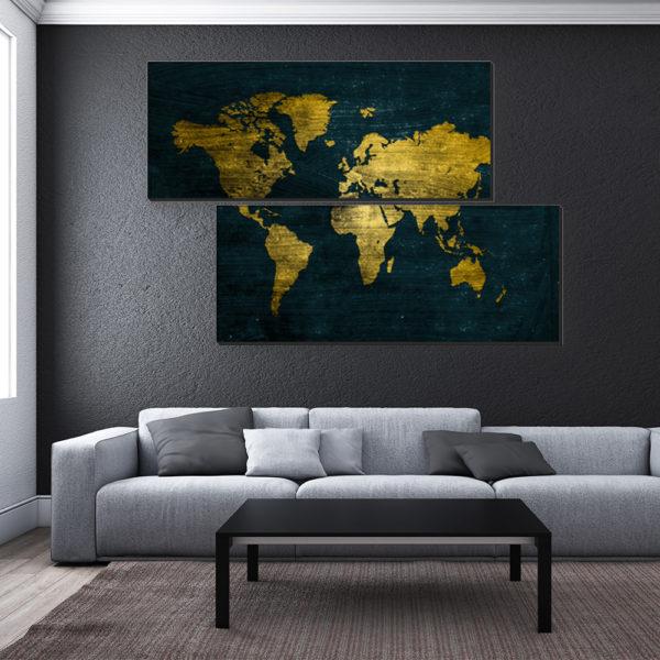 Πολύπτυχοι Πίνακες με Χάρτες