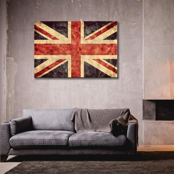 Πίνακες σε καμβά με Σημαίες του Κόσμου