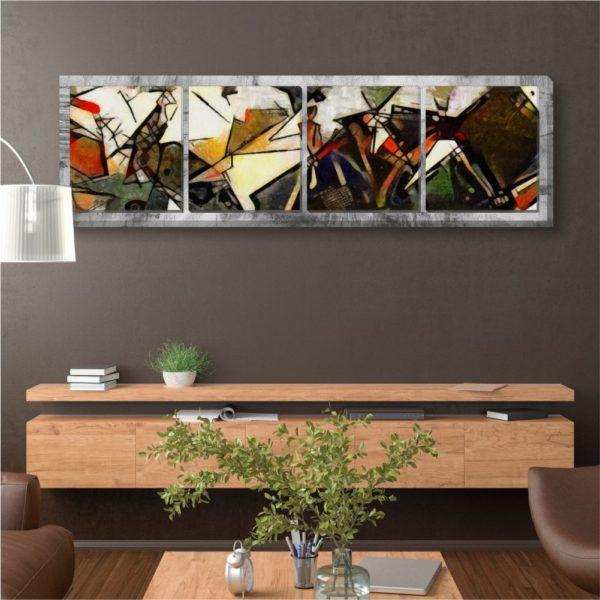Πολύπτυχοι Πανοραμικοί Πίνακες Ζωγραφική