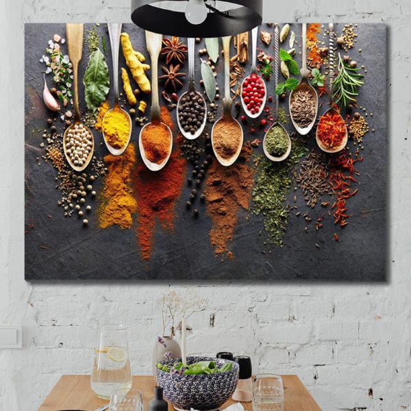 Πίνακες σε καμβά με Φαγητό - Ποτό