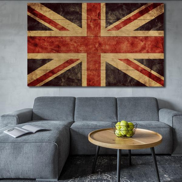 Πίνακες σε Ξύλινες Τάβλες - Σημαίες του Κόσμου