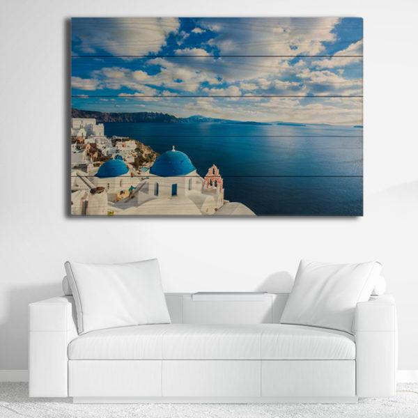 Πίνακες σε Ξύλινες Τάβλες - Ελλάδα