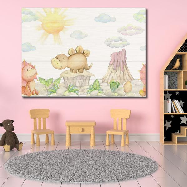 Πίνακες σε Ξύλινες Τάβλες - Παιδικά