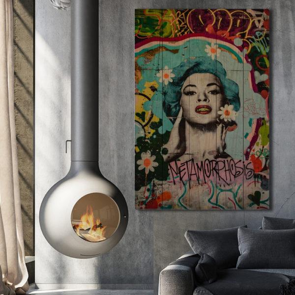 Πίνακες σε Ξύλινες Τάβλες - Street Art