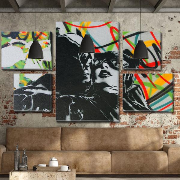 Πολύπτυχοι Πίνακες με Street Art