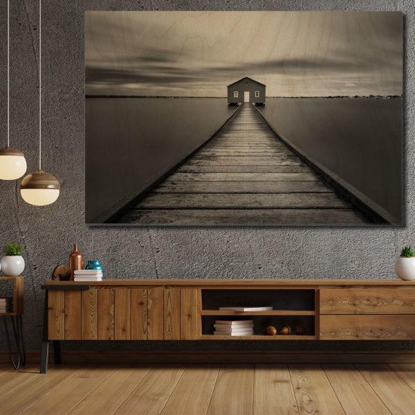 Πίνακες σε Kόντρα Πλακέ Θαλάσσης - Black & White