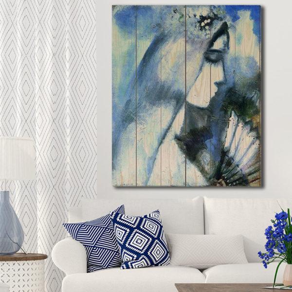 Πίνακες σε Ξύλινες Τάβλες με Αντίγραφα Διάσημων Ζωγράφων