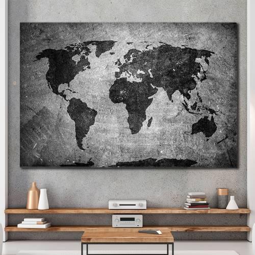 Πίνακες σε Αλουμίνιο - Χάρτες