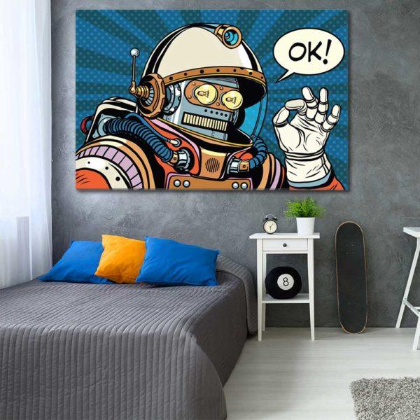 Πίνακες σε καμβά με Pop Art