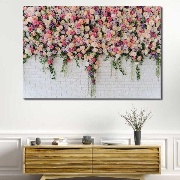 Πίνακες σε καμβά με Flowers